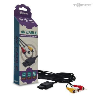 .SNES/N64/GC: AV CABLE - GENERIC (NEW)